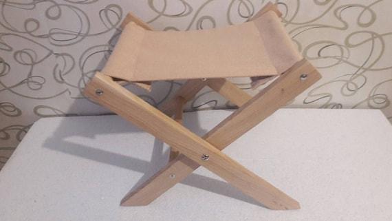 Phenomenal Small Folding Stool Wooden Garden Stool With Fabric Seat Small Portable Folding Stool Outdoor Folding Stool Machost Co Dining Chair Design Ideas Machostcouk