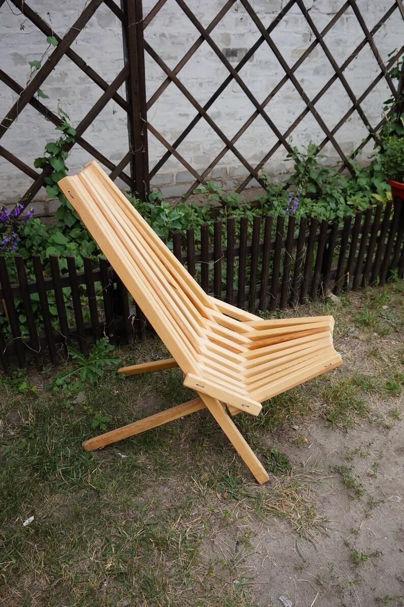 Holz Falten Stuhl Aus Lattenrost Liegestuhletsy Yybgvf76