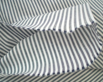 100/%COTTON STRIPED  SHIRT FABRIC-SOLD BY THE METER