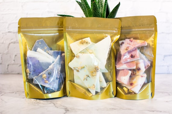Various Wax Melts / Bark 3 oz Sealed Bag Scent is Amazing A Little Goes A Long Way