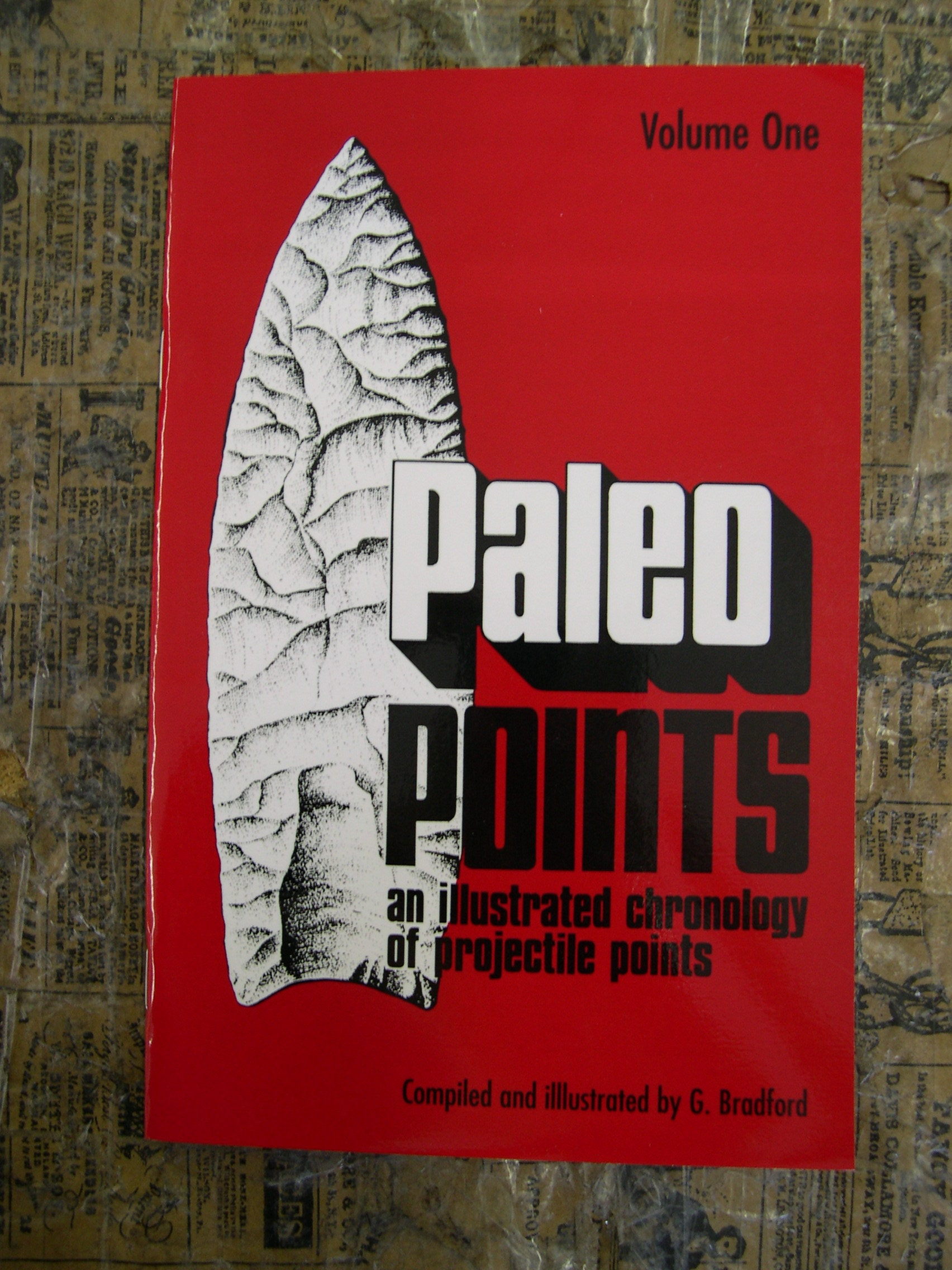 69054c335e0d0 Book Paleo Points Indian Arrowhead Native American Artifact Relic Clovis  Project New FREE SHIPPING