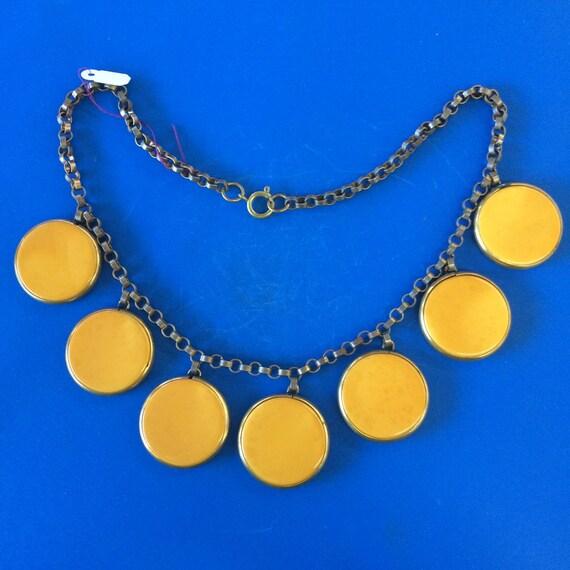Bakelite Necklace, Vintage Necklace, Bakelite, Vin