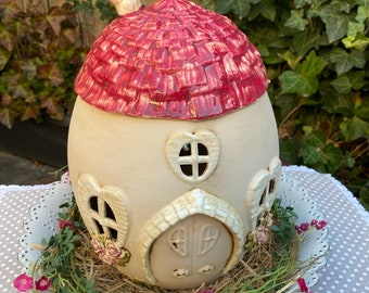 Elven house made of ceramic