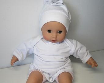 Puppenmütze Baby Born oder andere Puppen mit Hasen