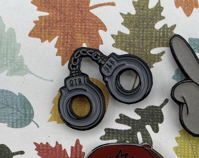 Beyonce Pin | OTR | Ride or Die | J&B Handcuff Pins | Music Enamel Pin