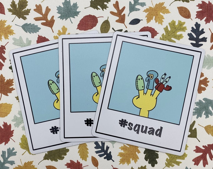 No New Friends | Squad Magnet