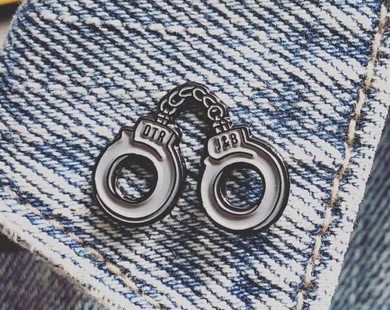Beyonce Pin | OTR | Ride or Die | J&B Handcuff Pins | Music Enamel Pin