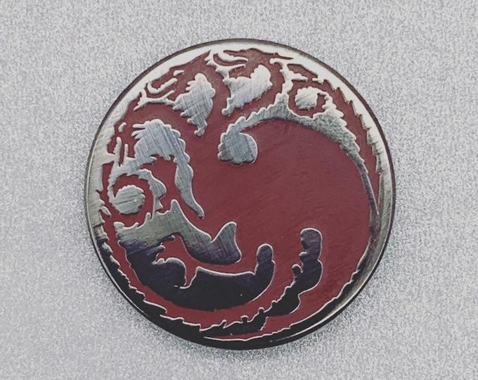 Game of Thrones Pin | Stark | Targaryen | Night King | Ice Dragon | Enamel Pin