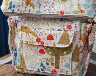 Kids backpack Ukkolino pattern in german, pdf download, sitztwackeltundhatluft, kindergarten bag, kindergarten backpack, sewing for kids