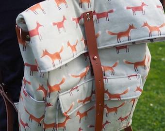 Backpack Ukko pattern in german, pdf download, sitztwackeltundhatluft, diaperbagpack, sewing for mums