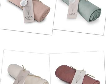 Cuddly towel VIDAR • Organic Cotton • Cuddly towel • Customizable • Muslin cloth • 100% organic cotton • Spitting cloth • Gauze cloth • Cloth