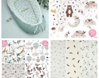 PinkClouds • Baby nests • Nests • different motifs selectable • Nest • Baby cot • Combination • Cocoon •