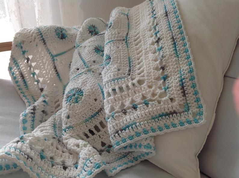 Crocheted Baby Blanket image 0
