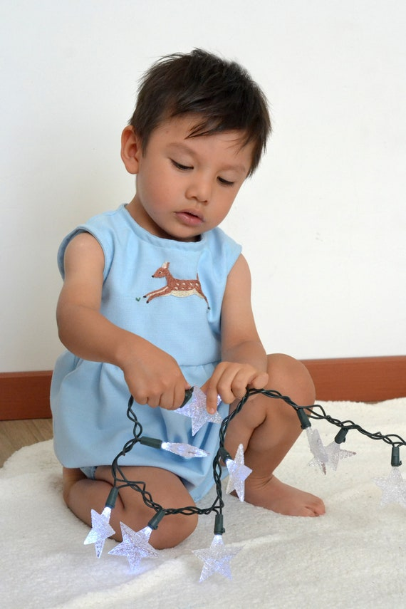 511ee306b75a Baby linen Romper Newborn Romper Baby clothes Linen romper