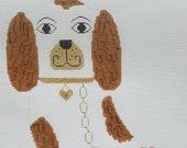 Needlepoint Kit Canvas quot Staffordshire Dog quot
