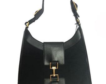 13ba524611d8 Gucci Vintage 70s Monogram Saddle Bag
