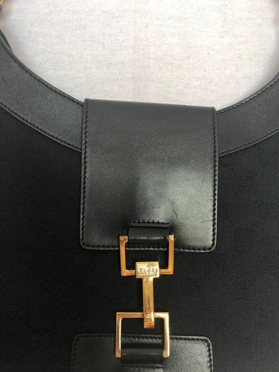 Gucci Vintage 70s Monogram Saddle Bag - image 2