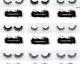 Eyelashes wholesale | Etsy