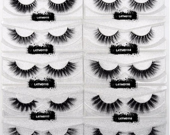 669ec704f5c Wholesale 3D Mink Lashes Mix & Match 20 LASHES + 20 CASES Start your own Mink  Eyelash Business