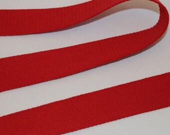Gurtband Baumwollgurtband 3 Meter  25 mm breit  taupe  Baumwolle  NEU
