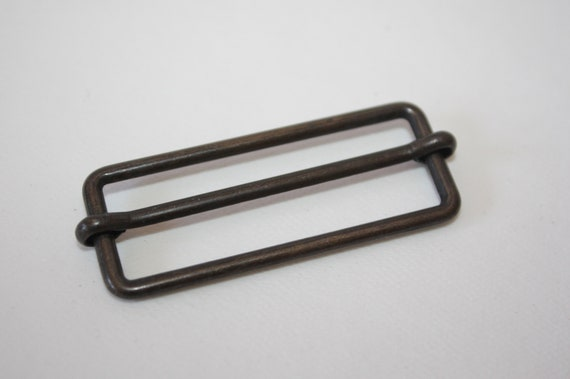 10 Schiebestegschnallen Steg 20 mm silber