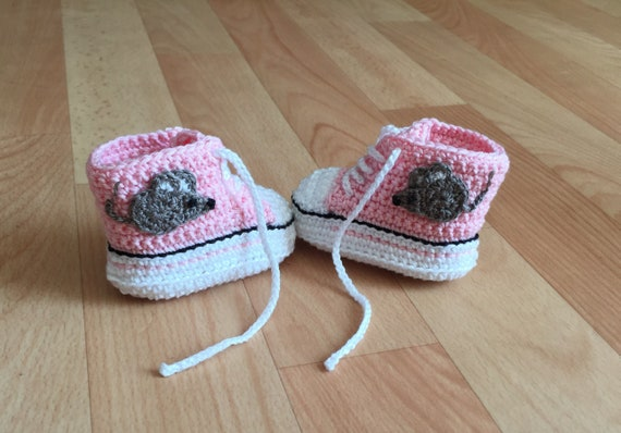 Chaussures de bébé, sneaker, « Fly on the wall »