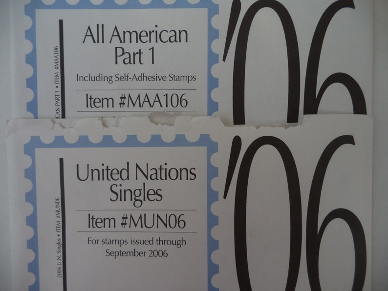 Lot of Minkus Stamp Album pages - United States, United Nations, Europe NEW  various years 1218