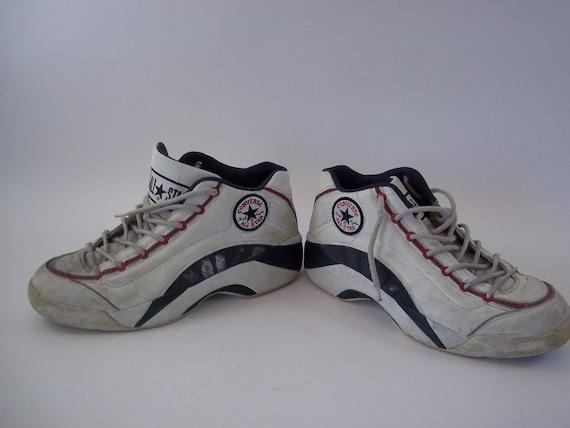 c2cc0d6c1f78a Rare Vintage 1997 Converse All Star Chuck Taylor Basketball Shoes Size 10  11642 0918