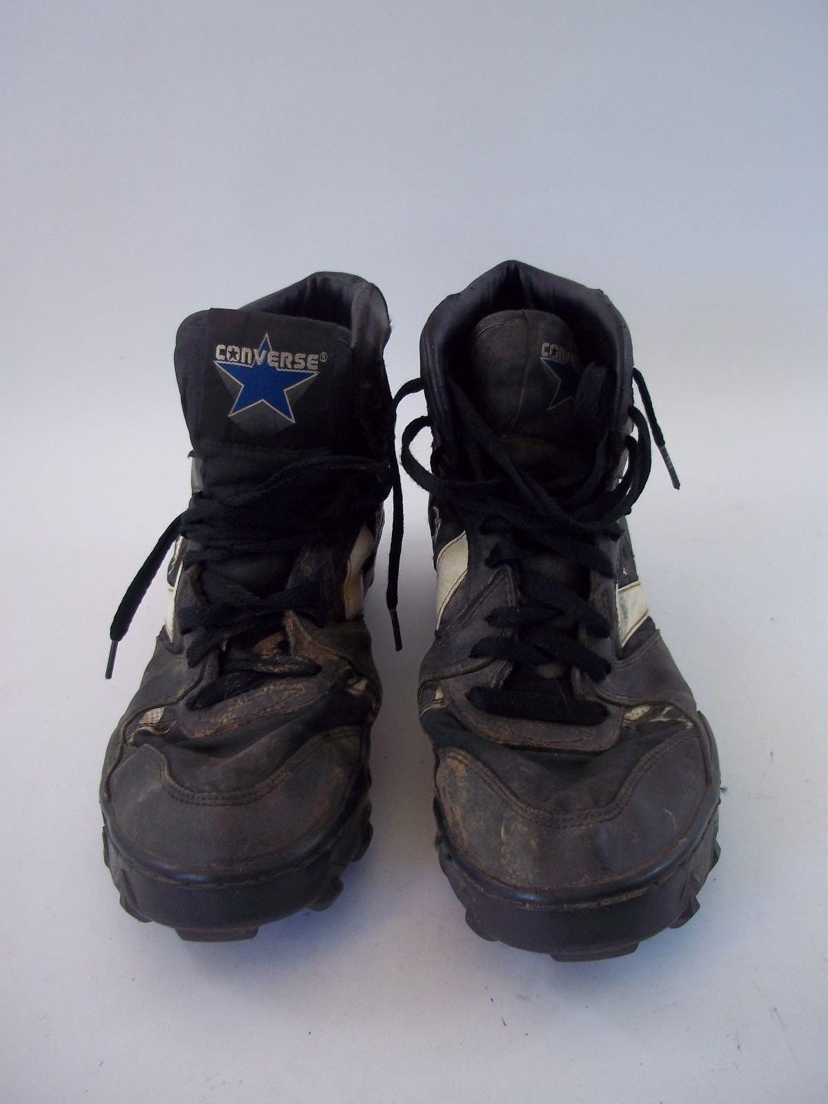 7ea28ca9bb377 Rare Vintage 1994 Converse Cons Shoes Size 9 Black 3B9405 14094 0918