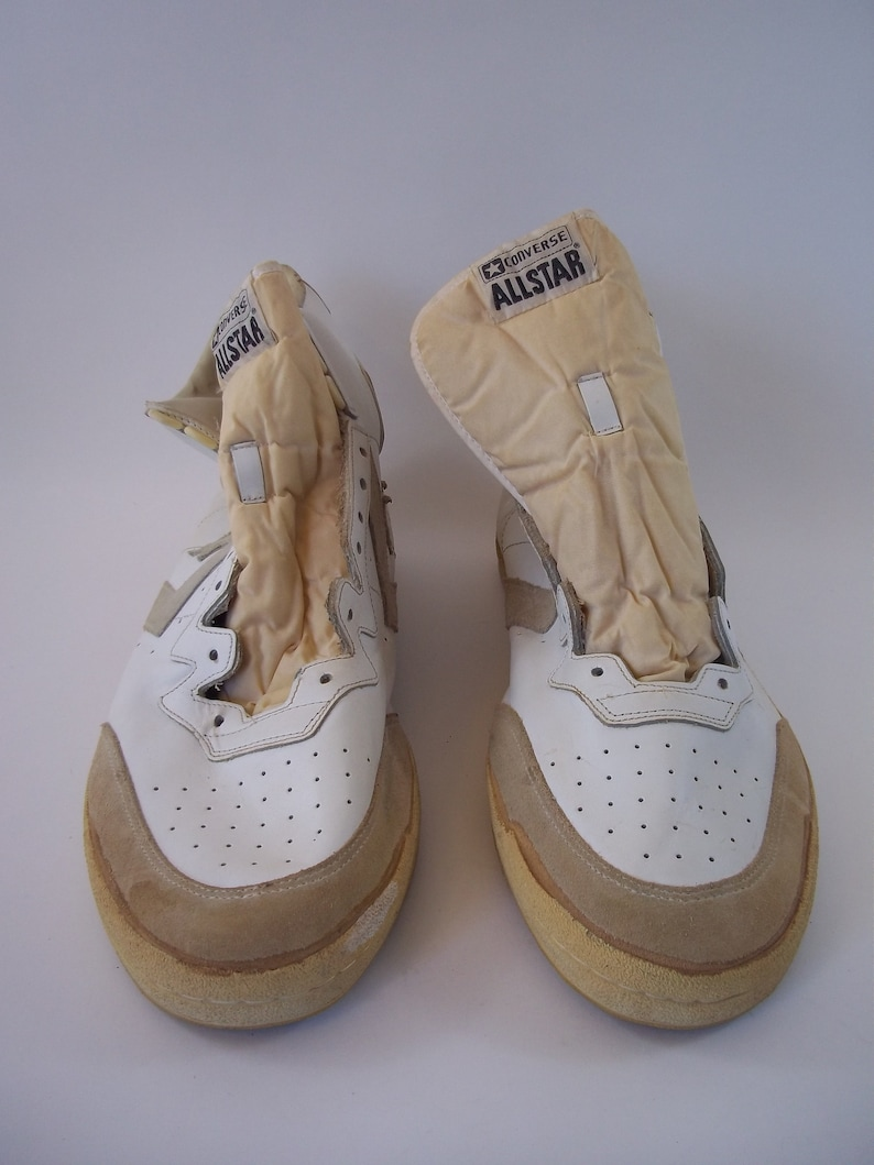 25d4b97f7c5bc Rare Vintage Converse 1991 All Star Shoes White Size 17-1/2 0918