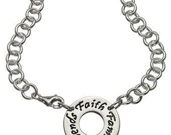 Faith, Family, Friends Choker Necklace
