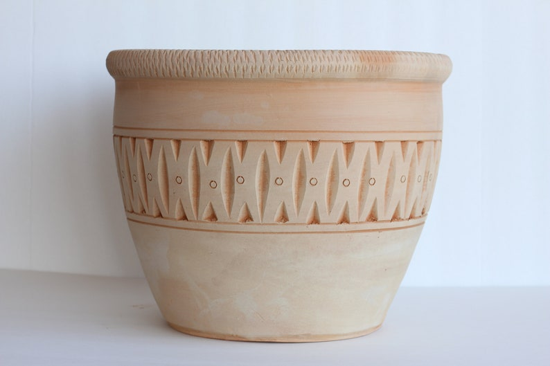 Etsy & Clay Pots Terracotta Pots Pots and Planters Handmade Pottery Flower Pots Plant Pots Garden Pots.FREE SHIP