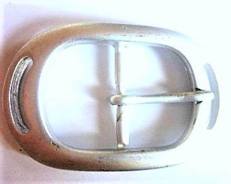 1 Matt Silver buckle bridge 2.8 cm IB Ware 138