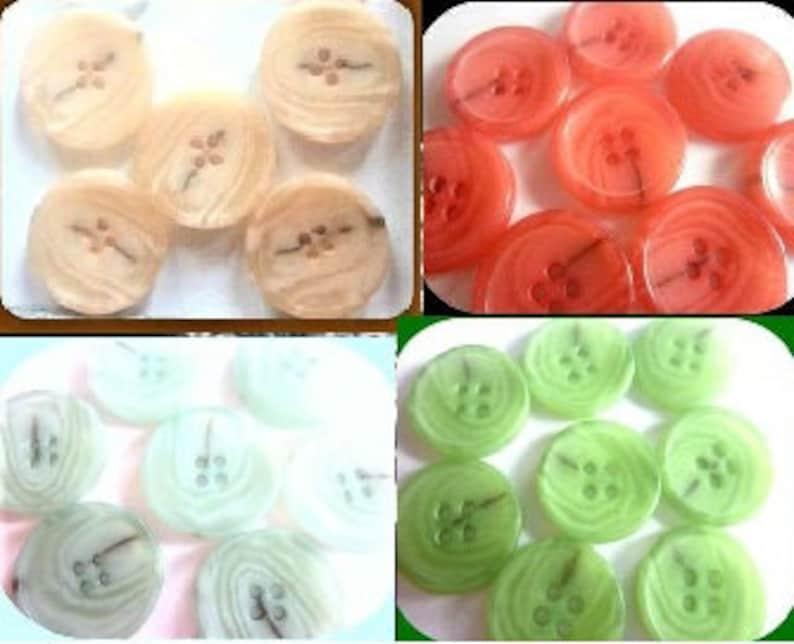 CHOOSE beige red light blue green x 18 mm 23 mm 25 mm buttons K145