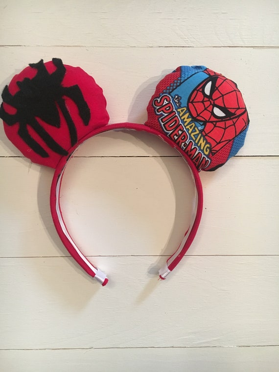 Spiderman mickey ears