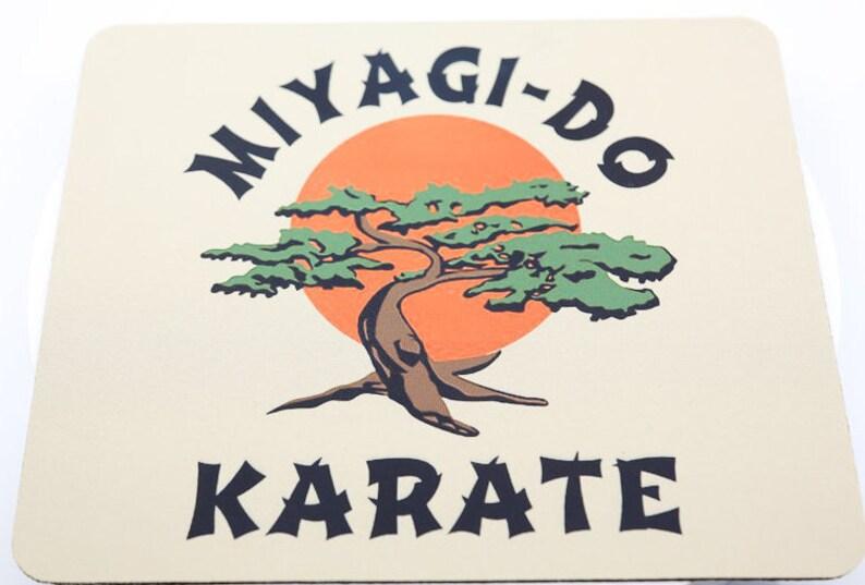 Karate Kid Miyagi Do Mouse Pad Sublimated Retro 80s Movies Etsy