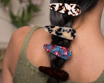 Tortoise Shell Hair Clips| Acetate Tortoiseshell Hair Clip Pin Fenna&Fei
