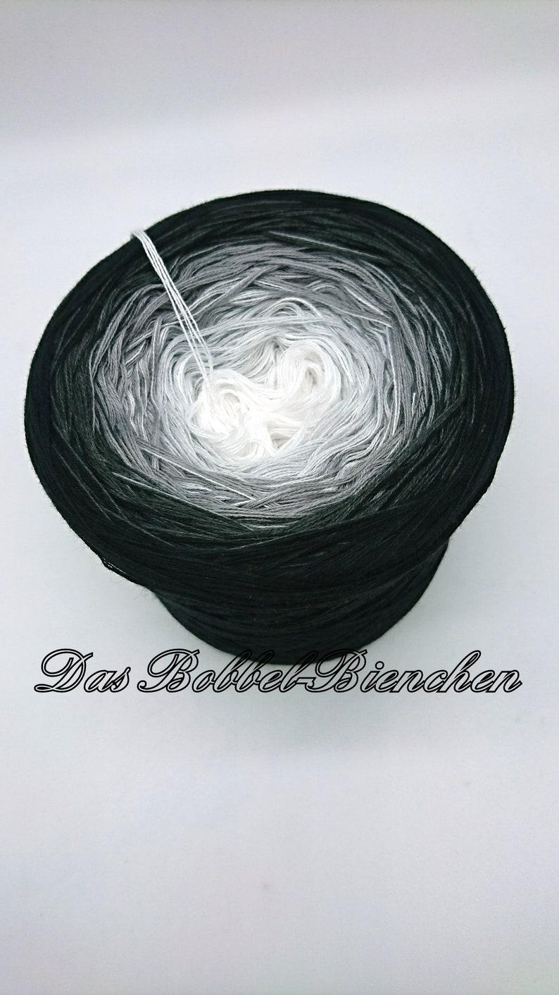wool Gradient yarn gradient yarn bobble
