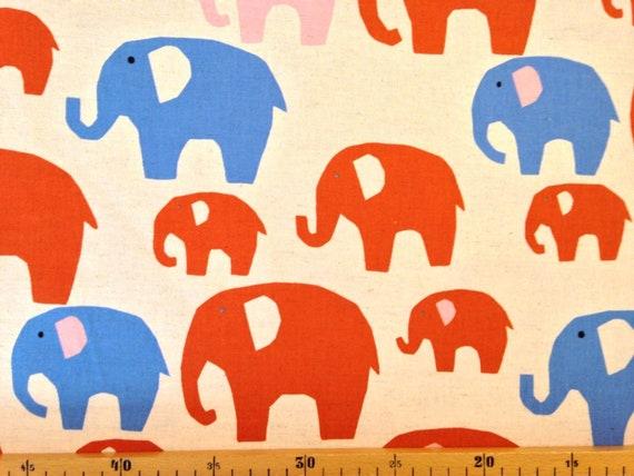 Kokka nordic animal Elefanten Beige | Etsy