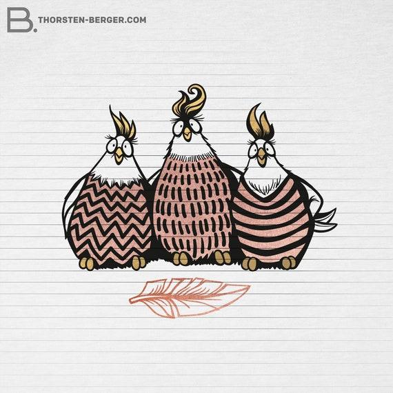 Plotter motif Winter Penguin by Thorsten Berger  Plotting  Winter  Hat  Animal  Christmas  X-Mas