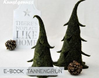 Ebook felted fir trees