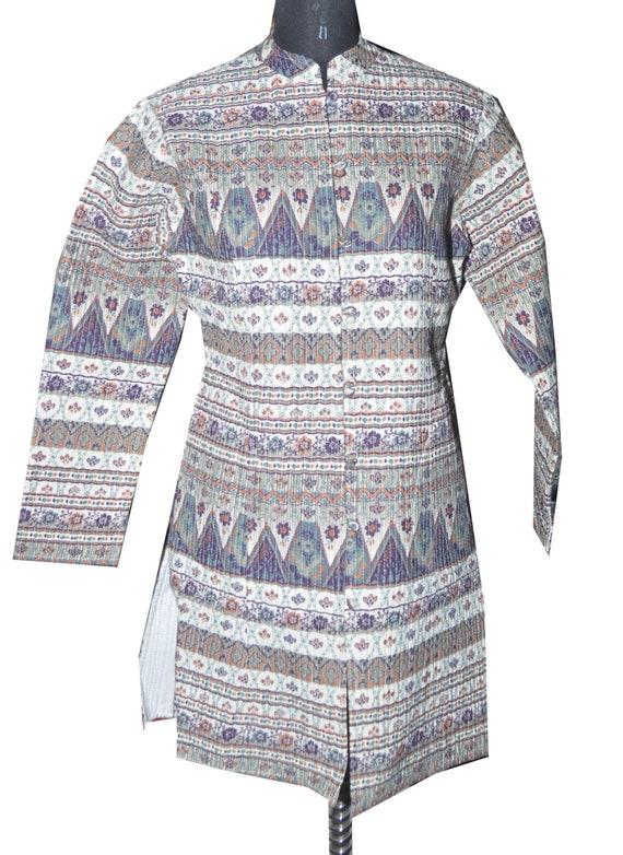 Reversibel Mantel Quilt 100Baumwolle Indische Winterjacke W29YEHIeDb