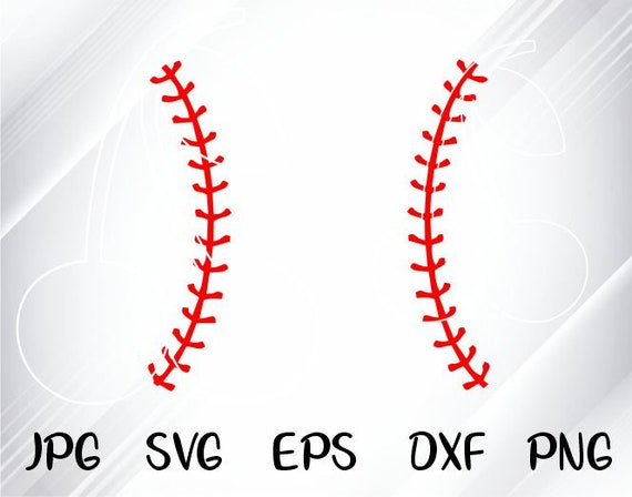 stencil svg cut file for cricut Baseball stitches lace svg Baseball svg files Baseball ball svg Baseball vector Baseball vinyl decal
