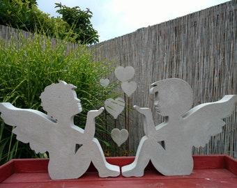 engel aus beton selber machen, beton engel | etsy, Design ideen