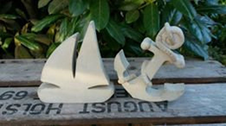 Silicone mould-TOLLES SEGELBOOT-15 x 3 cm