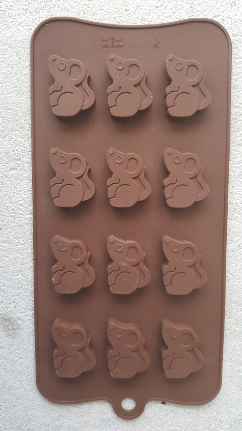 Silicone Casting Mould Small Mouse Multiple