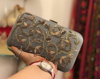 b2ac6d10148 Embroidery clutch   Etsy