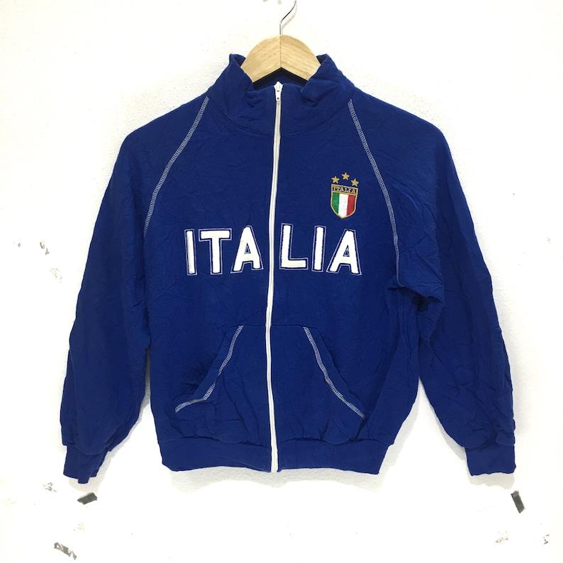b04cf5b85e9c Vintage ITALIA Sweatshirt Made In Italy Big Logo Spell Out