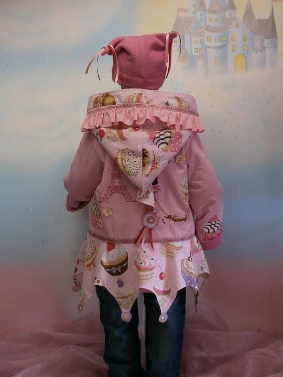 tarts design 110 Coat 140 egg cupcake 86 104 128 Paris 128 in wool feather pink 98 cap dress jacket tower 4Parts 92 116 134 parka loop DWE2H9IY
