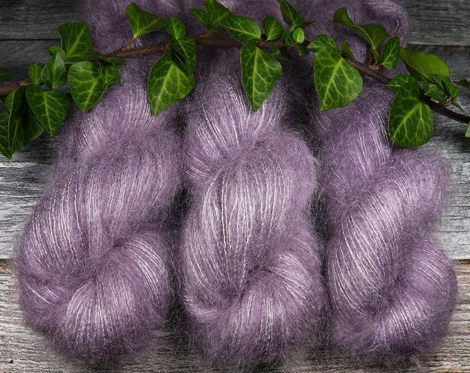 ANNA - 50gr Kidsilk Lace (100gr/EUR 43), Kidmohair & Seide pflanzengefärbt, edles Lacegarn mit Mohair, Lauflänge 420 Meter